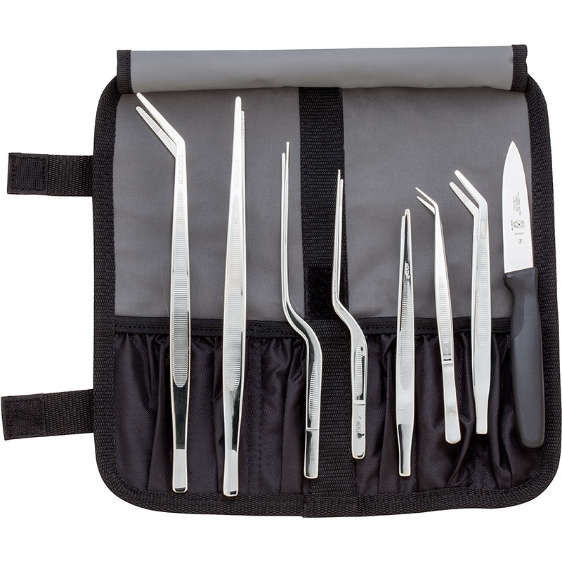 10 Pc Precision Plating Tongs Set Mercer Culinary